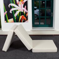 dieter l bke schaumdesign gmbh die g ste klapp matratze. Black Bedroom Furniture Sets. Home Design Ideas